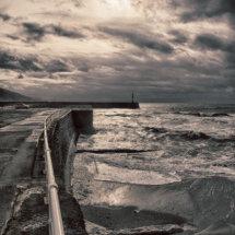 Stormy Aberystwyth
