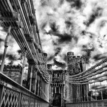 Conwy Bridge and Castle