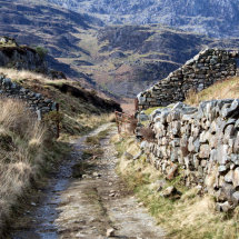 Mountain Path at Tanygrisiau