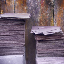 Slates at the National Slate Museum