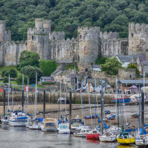 Conwy Boats and Castle
