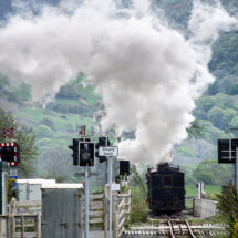 Steaming into Snowdonia