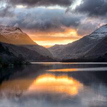 Llyn Padarn Sunrise