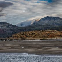 Dramatic Barmouth Bridge
