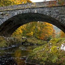 Autumn Bridge near Betws y Coed