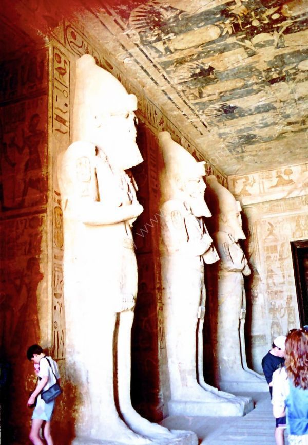 The first Hall, Abu Simbel