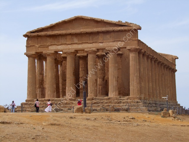 Other End of Doric Temple of Concord