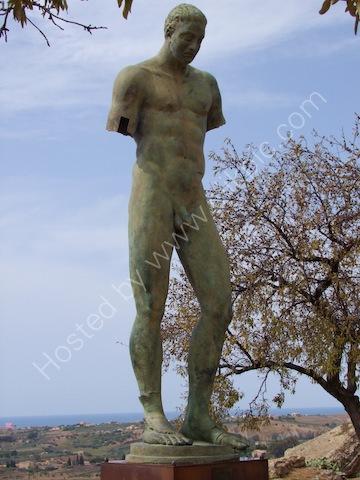 Bronze Statue, Valley of Temples