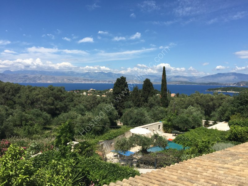 Albania Coastline viewed from Kassiopi, Corfu