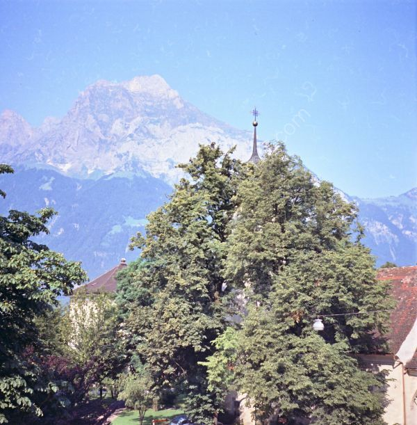 View of Mountains from Altdorf