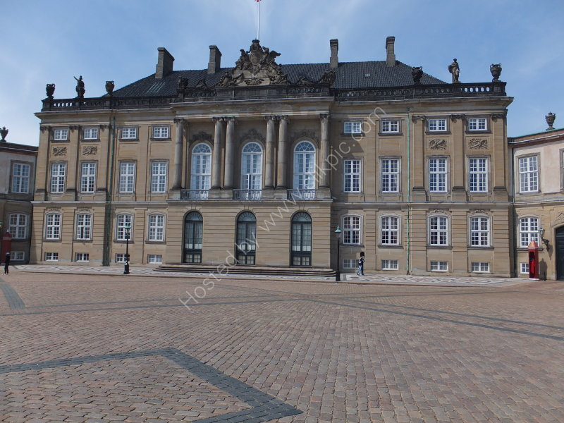 One of Four Palaces, Amelienborg