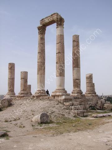 Temple of Hercules, Jebel al-Qal'a (Citadel Hill)