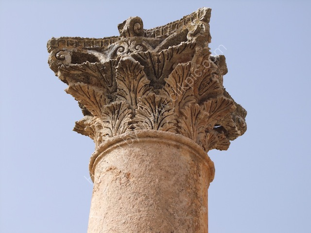Detail of Roman Carving, Jebel al-Qal'a (Citadel Hill)