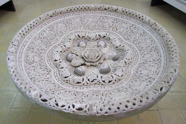 Exquisitely Carved Bowl, Museum at Jebel al-Qal'a (Citadel Hill)