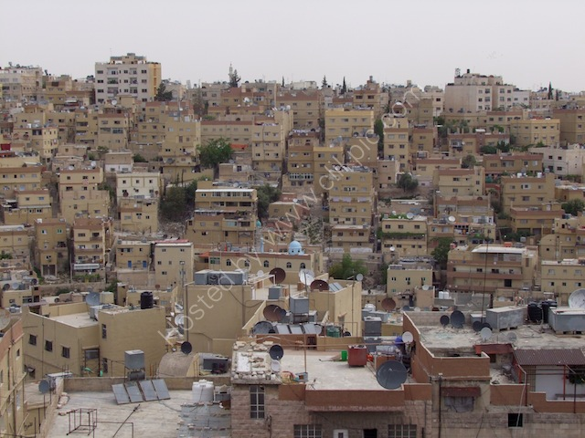 View of Downtown Amman Housing