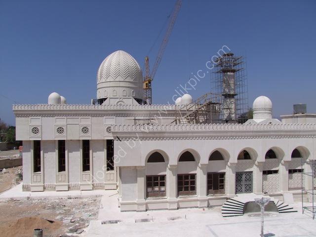 New Mosque Al Hussein Bin Ali under construction, Aqaba