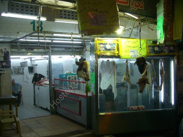 Butchers Shop at night, Aqaba