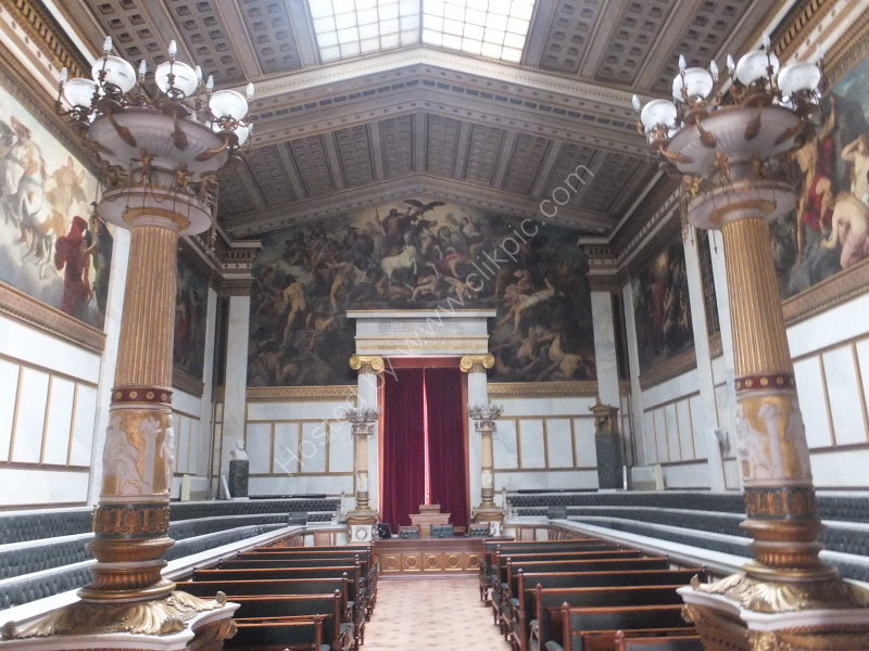 Interior Assembly Room of Academy of Athens