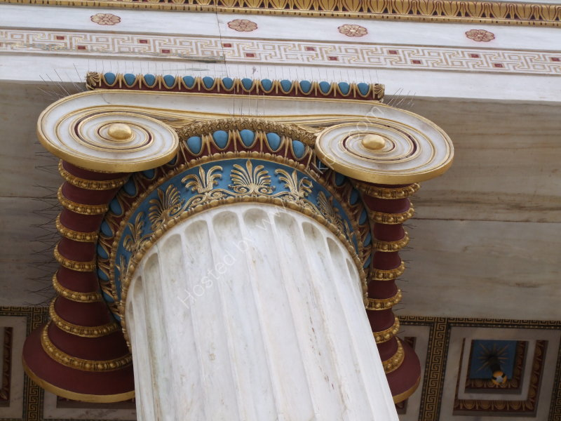 Detail of Academy of Athens