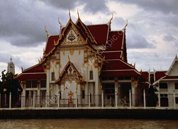 Traditional Thai Building, Mae Nam Chao Phrayal River, Ayutthaya to Bangkok