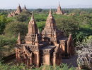 Bagan Archaeological Zone Temples & Pagodas at Sunset