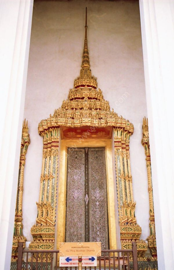 Window, Grand Palace, Bangkok