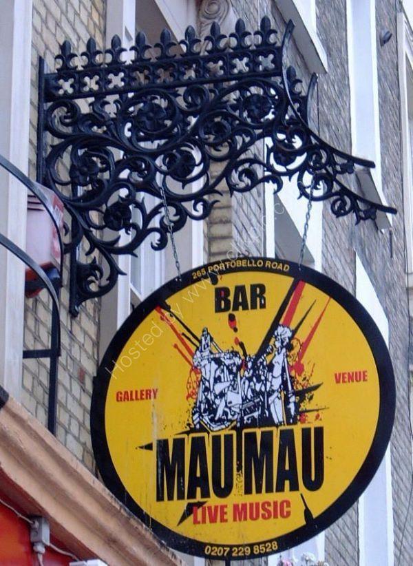Bar Mau Mau, Portobello Road, London