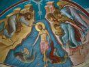 Wall Painting, Greek Orthodox Church, Bethany