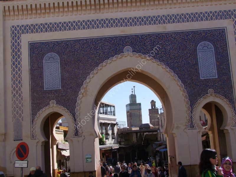 Blue Gate to Medina