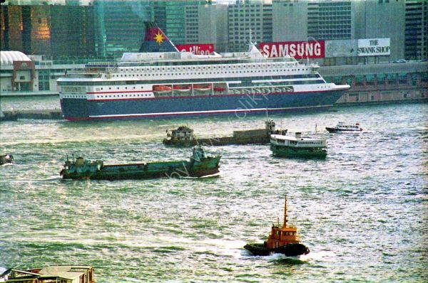 Boats, Victoria Harbour, Hong Kong