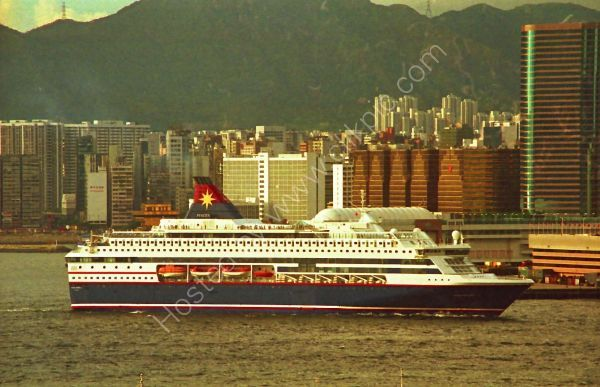 Ship, Victoria Harbour, Hong Kong