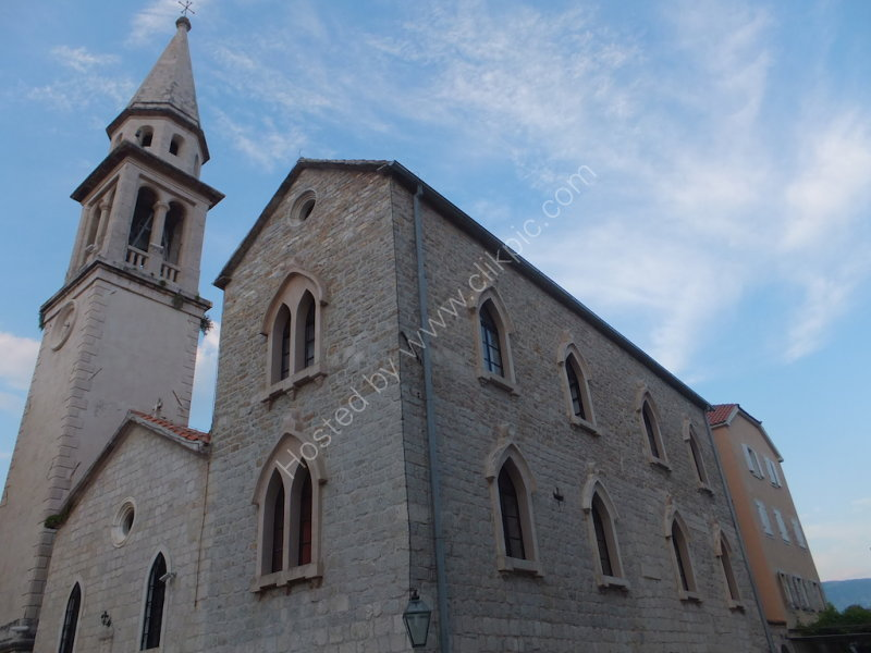 Church, Old Town Budva