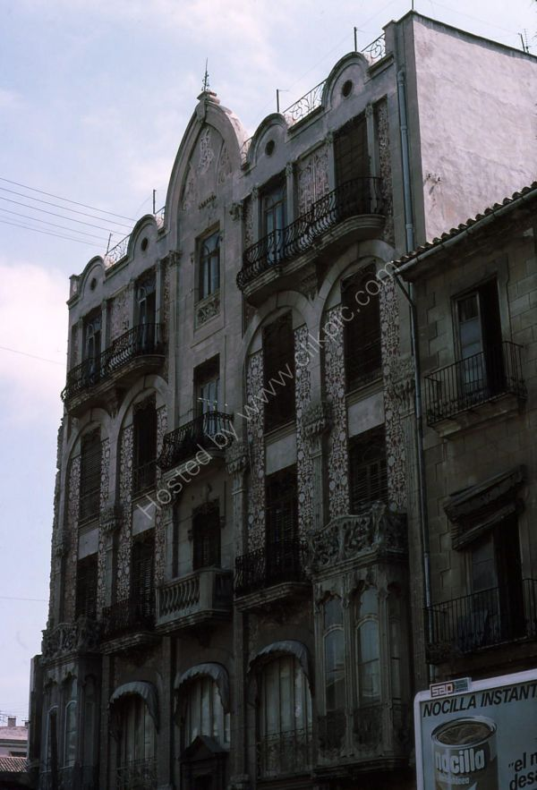 Typical Spanish Building, Valencia