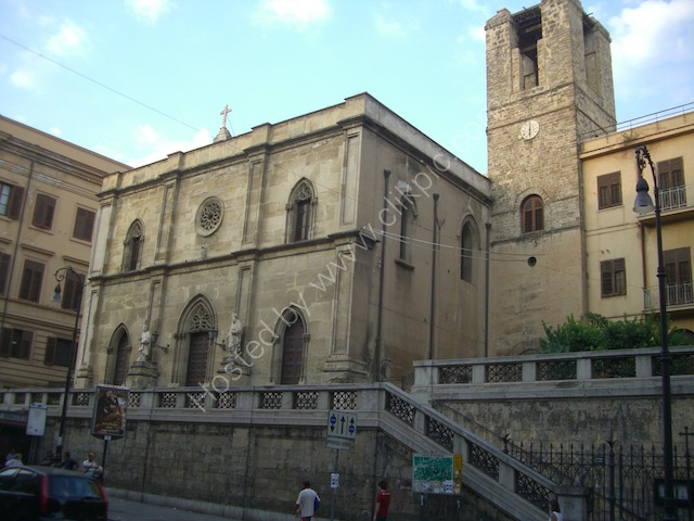 Church on Via Roma, Palermo