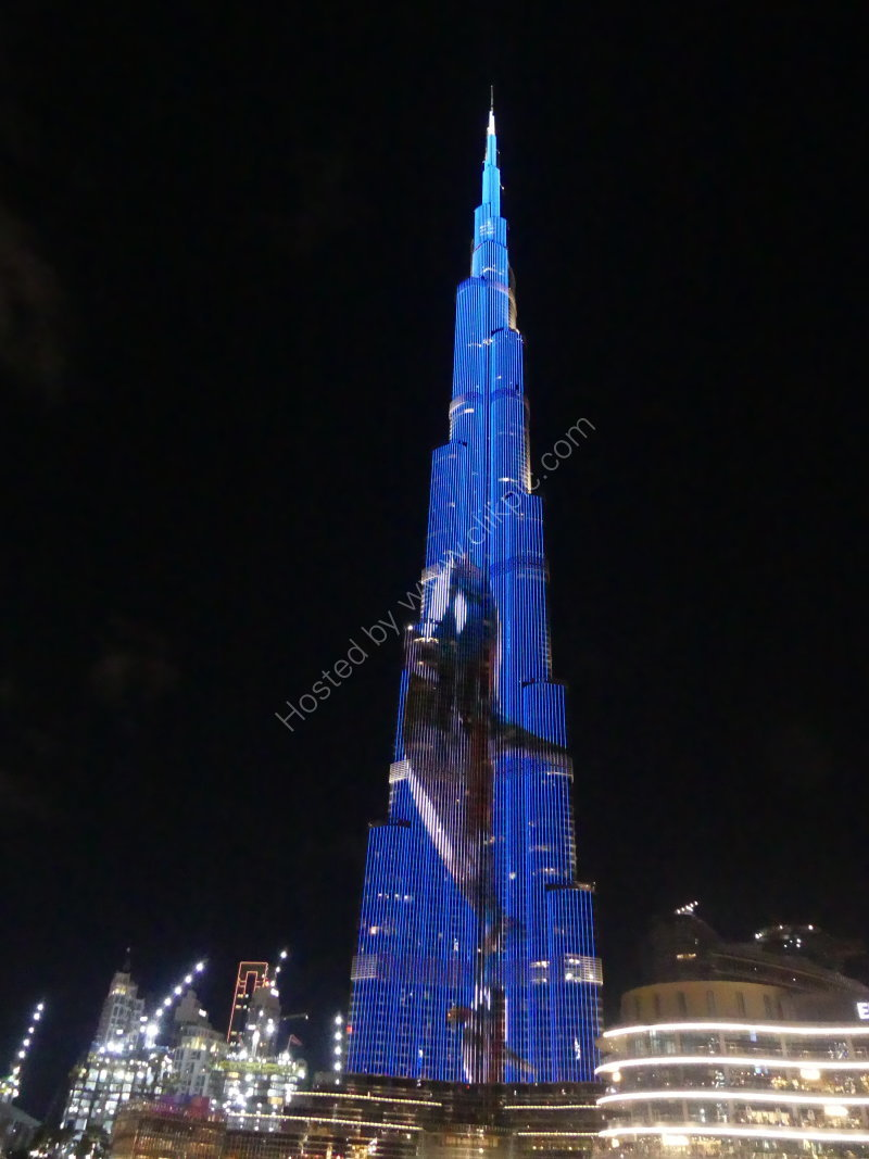 Burj Khalifa at Night, Dubai 2019
