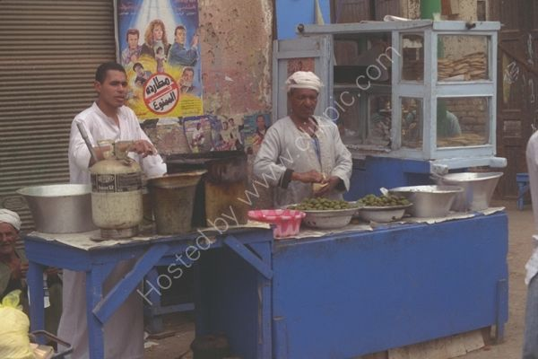 Food Stall, Cairo, Egypt