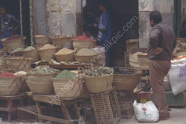 Spice Stall, Cairo, Egypt