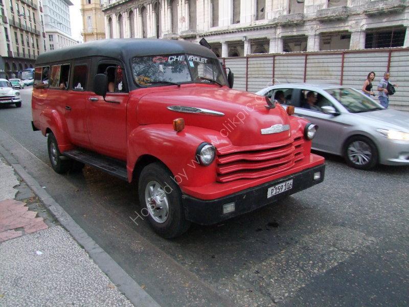 Chevrolet Bus, Havana