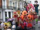 Chinese themed float
