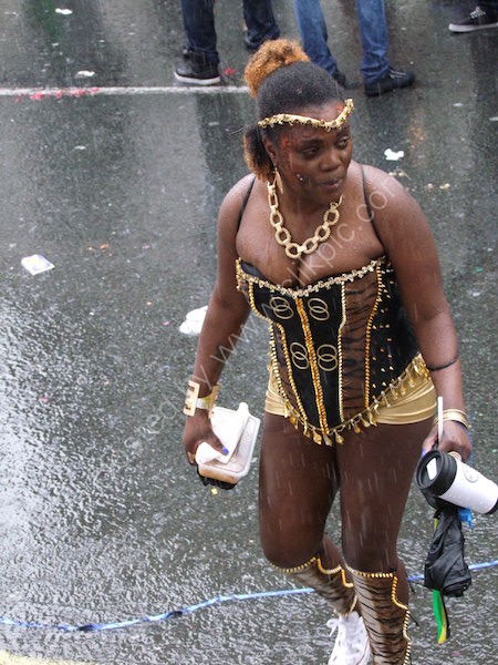 Dancer, Nottinghill Carnival 2014