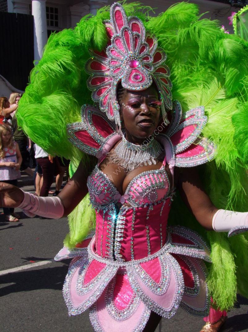 Nottinghill Carnival Dancer