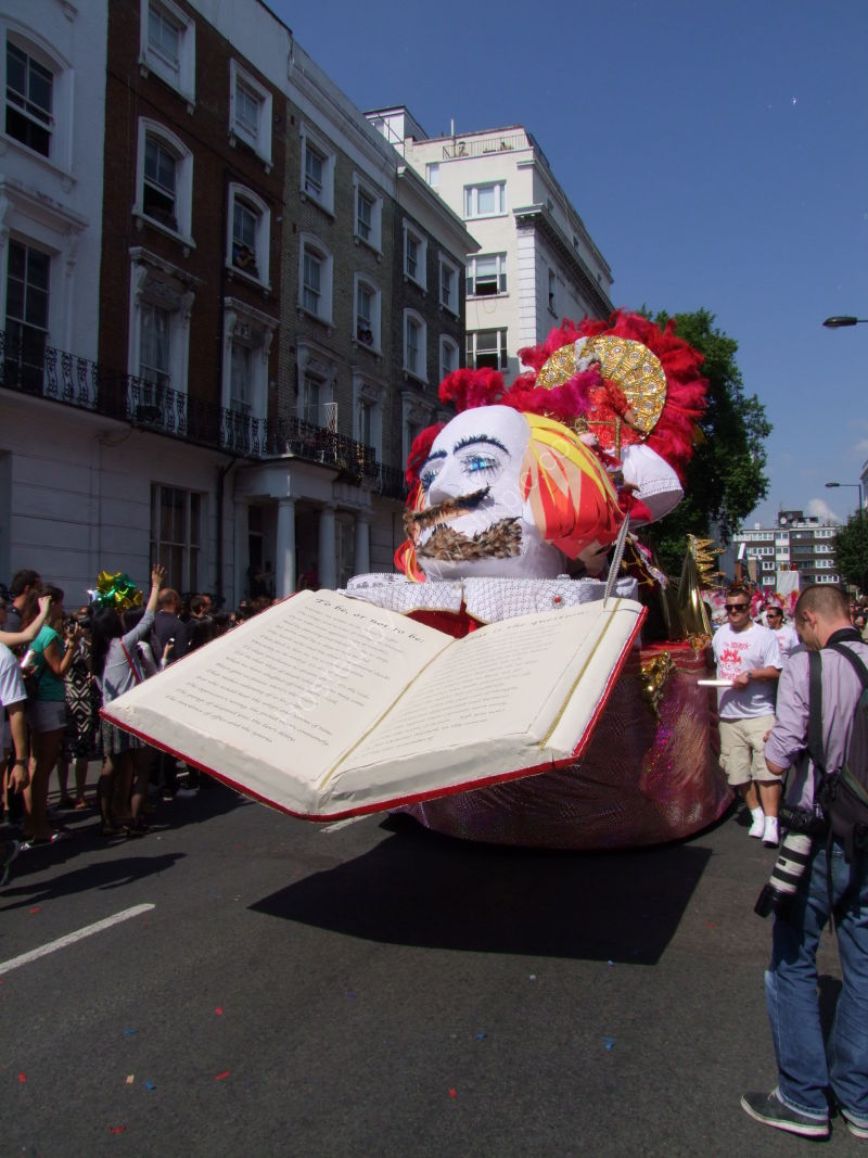 Nottinghill Carnival - Shakespeare