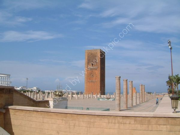 Hassan Tower & Remains of Hassan Mosque Prayer Hall, Rabat