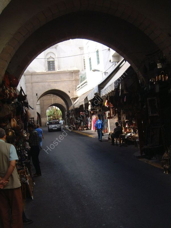 Line of Archways, Casablanca