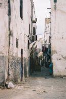 Side Street going into the Medina, Casablanca