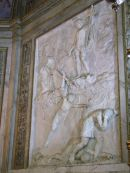 Marble Wall Plaque in Cathedral, Palermo
