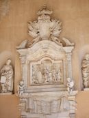 Detail of Marble Plaque in Portico, Cathedral, Palermo