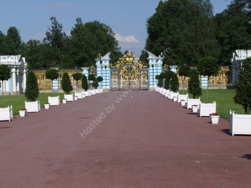 Entrance Gate to Catherine's Palace