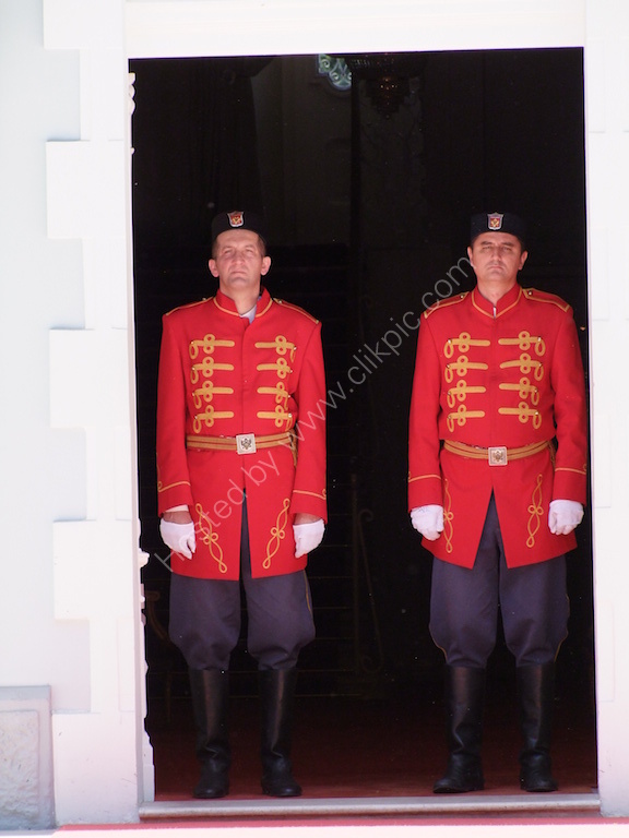 Guards at Mayor's House, Ceijne