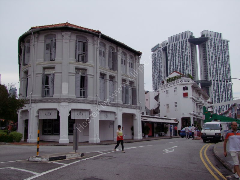 Modern Flats & Old Buildings, China Town